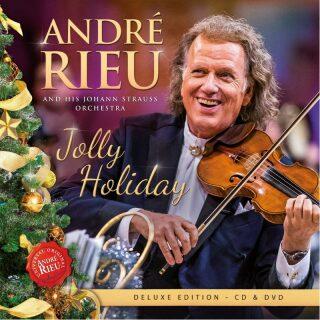 André Rieu: Jolly Holiday - Deluxe edition CD + DVD - André Rieu - audiokniha