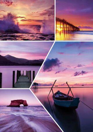 Fotoalbum 200 10x15 WAWES fialové