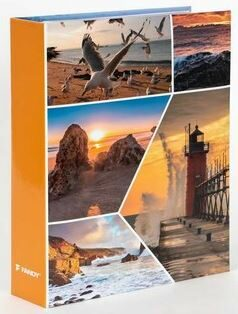 Fotoalbum 200 10x15 WAWES oranžové