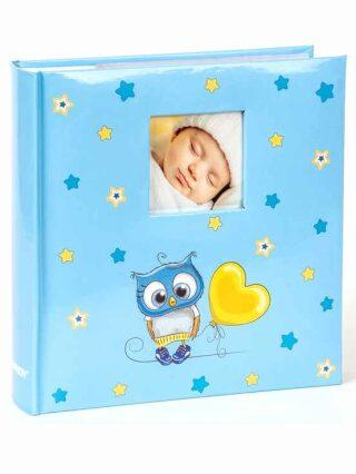 Fotoalbum 200 10x15 OWLS modré