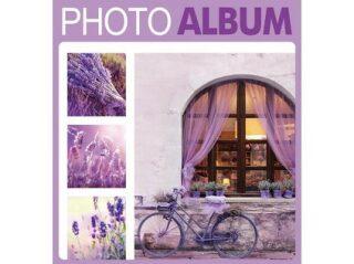 Fotoalbum 200 10x15 TERRACOTTA fialové