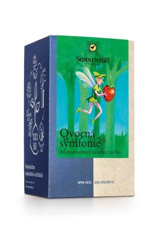 Ovocná symfonie bio (čaj, aromatizovaný, porcovaný, 54g)