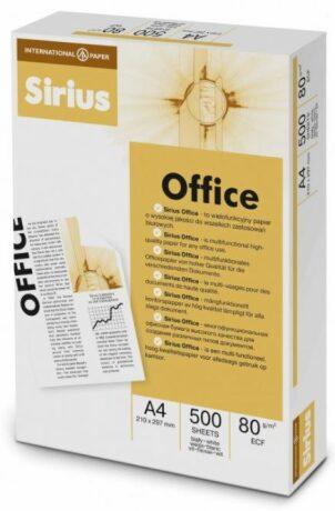 Kancelářský papír Sirius A4/80g/500 listů