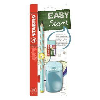 STABILO EASYgraph školní set - modrý L s ořezávatkem a pryží