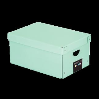 Krabice lamino 35,5x24x16 cm PASTELINI zelená