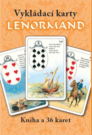 Vykládací karty Lenormand (kniha+karty) - Mademoiselle Lenormand