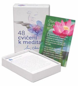 48 cvičení k meditaci - karty - Sri Chinmoy
