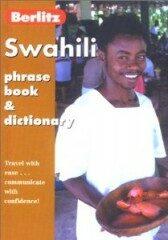 Swahili Phrase book a diction. -