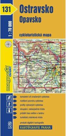 1: 70T(131)-Ostravsko,Opavsko (cyklomapa)
