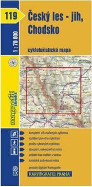 1: 70T(119)-Český les-jih,Chodsko (cyklomapa)