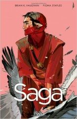 Saga -  vol. 2 (AJ) - Brian K. Vaughan, Fiona Staplesová