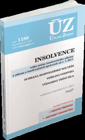 ÚZ 1188 Insolvence, Ochrana hospodářské soutěže, Veřejná podpora -