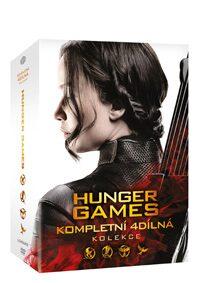 Hunger Games kolekce 1-4 - neuveden