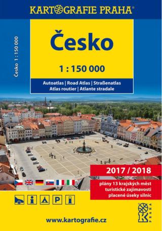 Česko - autoatlas/1:150 000 - neuveden