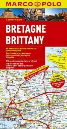 Francie - Bretaň/ mapa 1:200T MD - neuveden