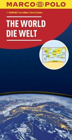 Svět politická 1:30M/mapa (ZoomSystem) MD - neuveden