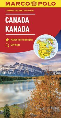 Kanada 1:4M/mapa (ZoomSystem) MD - neuveden