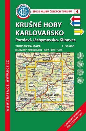 KČT 4 Krušné hory Karlovarsko -