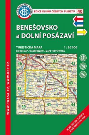 KČT 40 Benešovsko a Dolní Posázaví 1:50 000 -