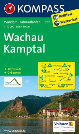 Wachau - Kamptal 207 NKOM 1:50T - neuveden