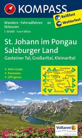 St. Johann / Salzburger Land 80 NKOM 1:50T - neuveden