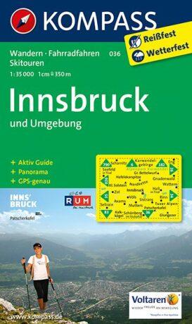 Innsbruck und Umgebung 036 NKOM 1:35T - neuveden