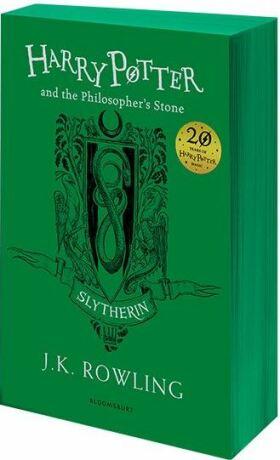 Harry Potter and the Philosopher's Stone – Slytherin Edition - Joanne K. Rowlingová