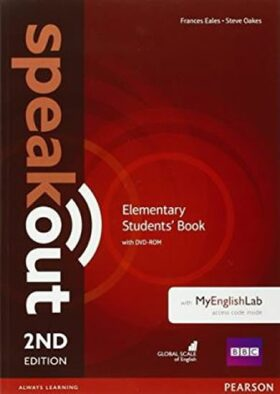 Speakout 2nd Edition Elementary Students´ Book w/ DVD-ROM/MyEnglishLab Pack - Antonia Clare