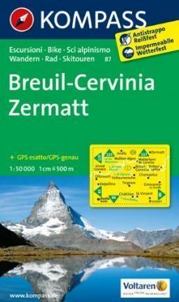 Breuil-Cervinia Zermatt 87 NKOM 1:50T - neuveden