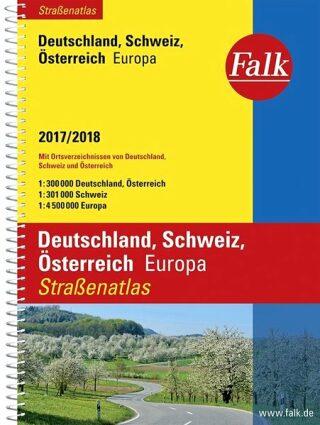 Německo / Rakousko / Švýcarsko 2017/18 Falk spir.  MD - neuveden