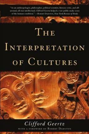 The Interpretation of Cultures - Clifford Geertz