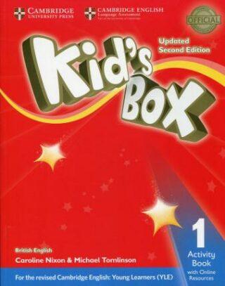 Kid´s Box 1 Activity Book with Online Resources British English,Updated 2nd Edition - Caroline Nixon