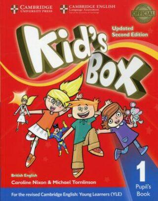 Kid´s Box 1 Pupil´s Book British English,Updated 2nd Edition - Caroline Nixon