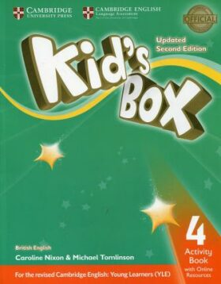 Kid´s Box 4 Activity Book with Online Resources British English,Updated 2nd Edition - Caroline Nixon