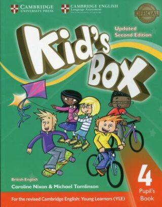 Kid´s Box 4 Pupil´s Book British English,Updated 2nd Edition - Caroline Nixon