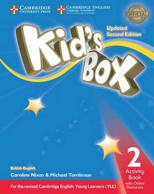 Kid´s Box 2 Activity Book with Online Resources British English,Updated 2nd Edition - Caroline Nixon