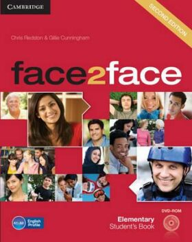 Face2Face Elementary Students Book with DVD-ROM - Chris Redston, Gillie Cunningham