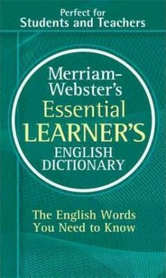Essential LEARNER´S English Dictionary - Webster´s Merriam