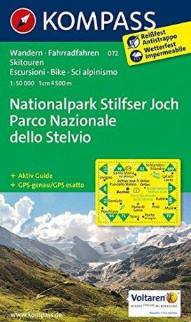 Nationalpark Stilfser Joch 072 / 1:50T NKOM - neuveden