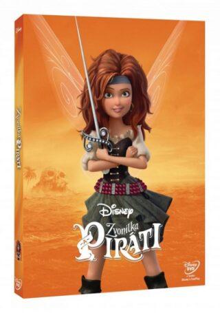 Zvonilka a piráti - Edice Disney Víly - DVD