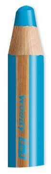 Pastelka STABILO Woody 3v1 modrá