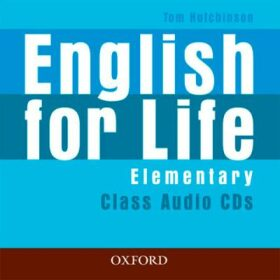 English for Life: Elementary: Class Audio CDs -
