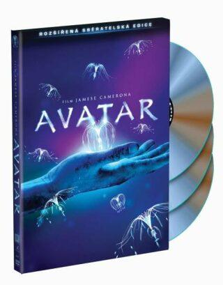 Avatar DVD sběratelská 3-disková verze - neuveden