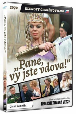 Pane, vy jste vdova! DVD (remasterovaná verze) - neuveden