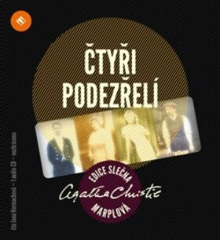 Čtyři podezřelí - Agatha Christie - audiokniha