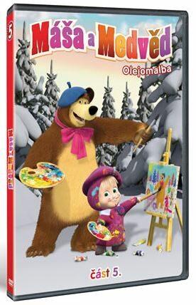 Máša a medvěd 5 DVD - neuveden
