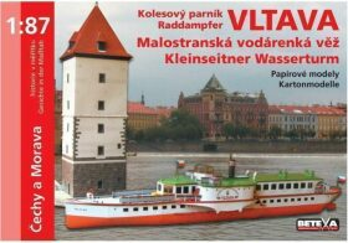 Kolesový parník Vltava -