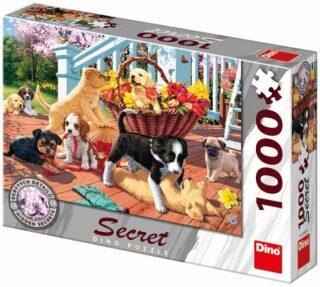Secret collection puzzle: Štěňata 1000 dílků