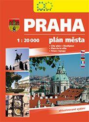 Praha - knižní plán města 1:20 000