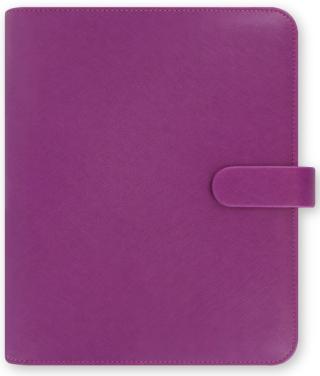 Diář Filofax - Saffiano, A5 2021, malinová